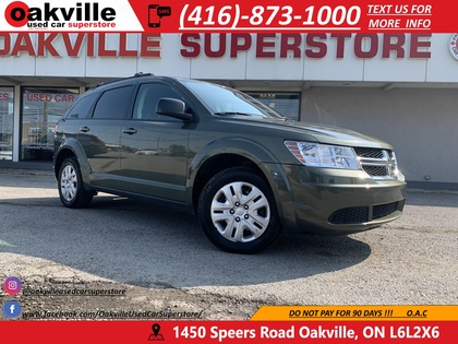 used 2017 Dodge Journey car, priced at $12,950