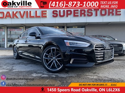 used 2019 Audi A5 Sportback car, priced at $38,950