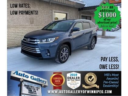 used 2019 Toyota Highlander car, priced at $44,988