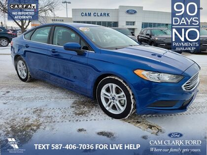 used 2018 Ford Fusion car, priced at $15,218