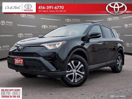 used 2017 Toyota RAV4 car, priced at $20,503