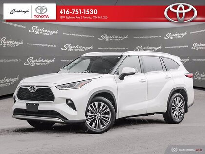 used 2020 Toyota Highlander car, priced at $54,900