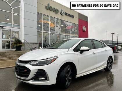 used 2019 Chevrolet Cruze car, priced at $19,634