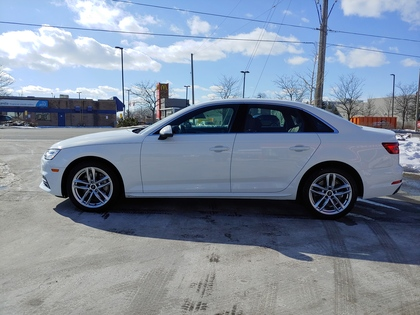 used 2018 Audi A4 car, priced at $27,450