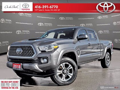 used 2018 Toyota Tacoma car, priced at $41,549