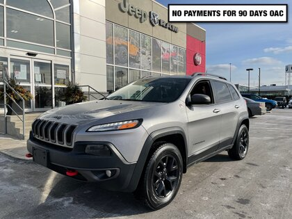 used 2016 Jeep Cherokee car, priced at $20,480