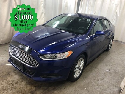 used 2016 Ford Fusion car, priced at $12,992