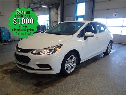 used 2017 Chevrolet Cruze car, priced at $16,992