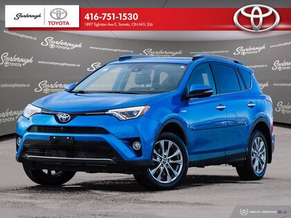 used 2017 Toyota RAV4 Hybrid car, priced at $29,900
