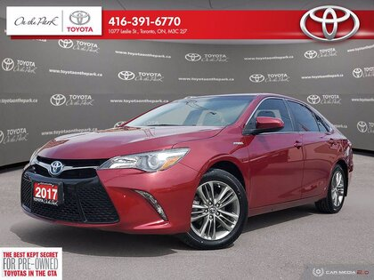 used 2017 Toyota Camry Hybrid car, priced at $20,995