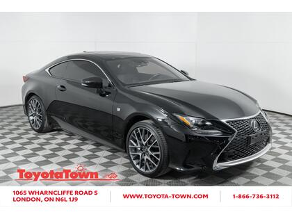 used 2018 Lexus RC 350 car, priced at $47,998