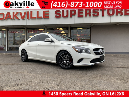 used 2017 Mercedes-Benz CLA-Class car, priced at $19,950