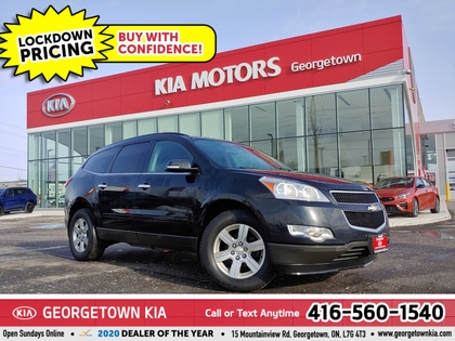 used 2012 Chevrolet Traverse car, priced at $6,900
