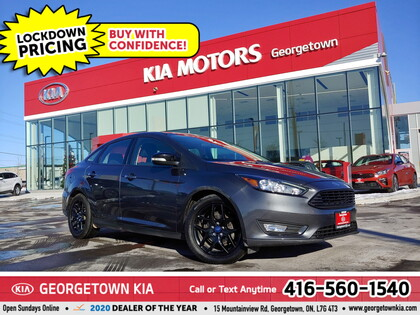used 2017 Ford Focus car, priced at $12,950