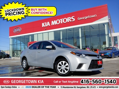 used 2016 Toyota Corolla car, priced at $12,950