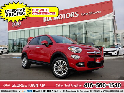 used 2016 FIAT 500X car, priced at $8,950