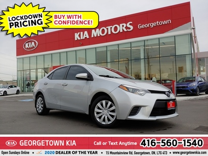 used 2015 Toyota Corolla car, priced at $12,950