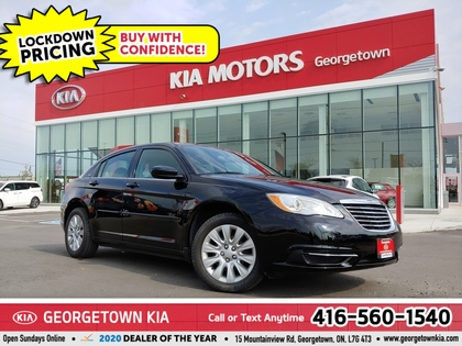 used 2013 Chrysler 200 car, priced at $7,950