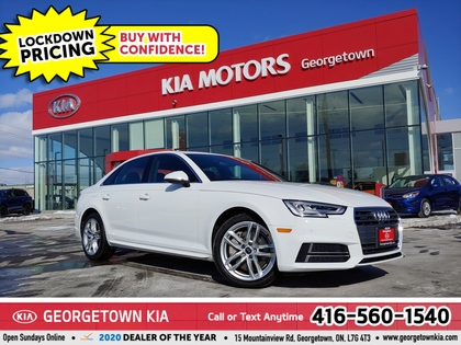 used 2018 Audi A4 car, priced at $27,950