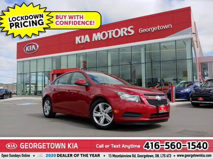 used 2014 Chevrolet Cruze car, priced at $11,950