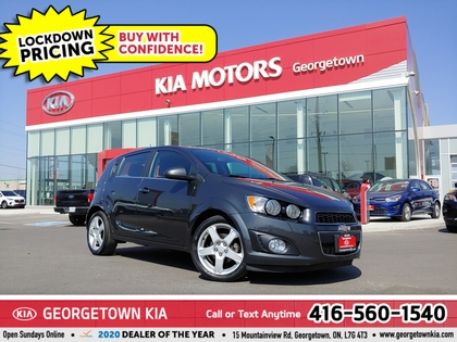 used 2016 Chevrolet Sonic car, priced at $10,950