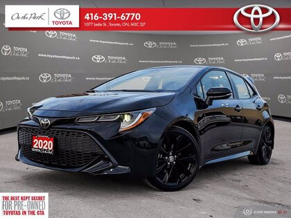 used 2020 Toyota Corolla Hatchback car, priced at $26,198
