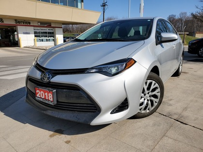 used 2018 Toyota Corolla car, priced at $14,995