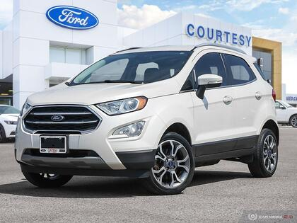 used 2018 Ford EcoSport car, priced at $20,714