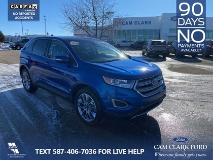 used 2018 Ford Edge car, priced at $31,749