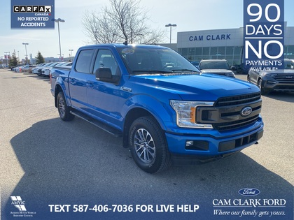 used 2019 Ford F-150 car, priced at $46,485