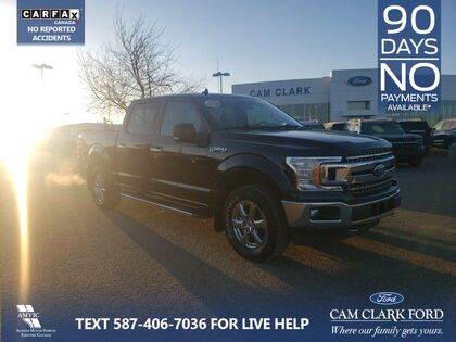 used 2018 Ford F-150 car, priced at $35,987
