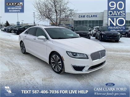 used 2017 Lincoln MKZ car, priced at $26,392