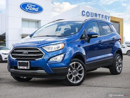 used 2020 Ford EcoSport car, priced at $24,884