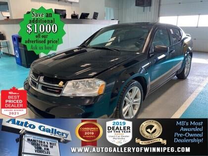 used 2014 Dodge Avenger car, priced at $10,998