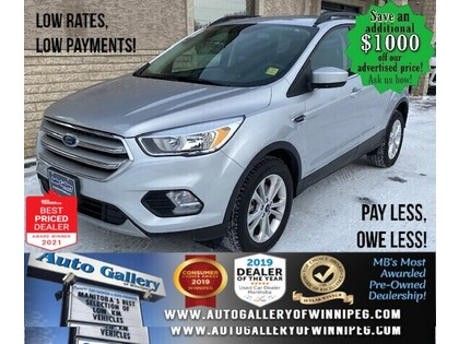 used 2018 Ford Escape car, priced at $21,993