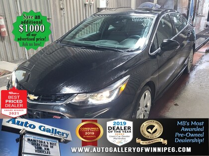 used 2017 Chevrolet Cruze car, priced at $16,377
