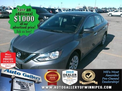 used 2018 Nissan Sentra car, priced at $14,988