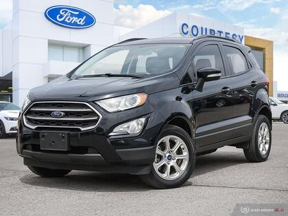 used 2018 Ford EcoSport car, priced at $17,750