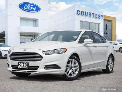 used 2016 Ford Fusion car, priced at $12,892