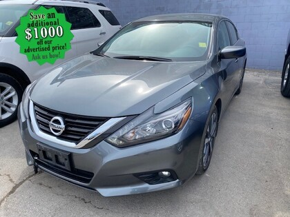used 2016 Nissan Altima car, priced at $16,998