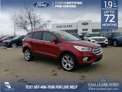 used 2018 Ford Escape car, priced at $22,952