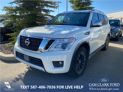 used 2017 Nissan Armada car, priced at $39,889