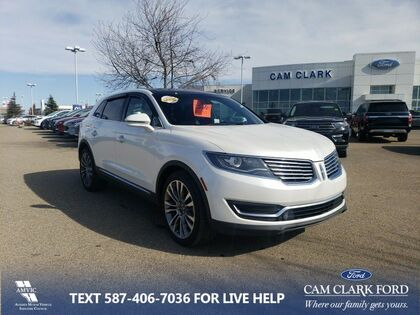 used 2016 Lincoln MKX car, priced at $21,563