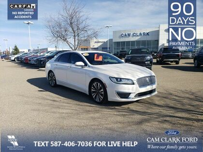 used 2017 Lincoln MKZ car, priced at $26,391