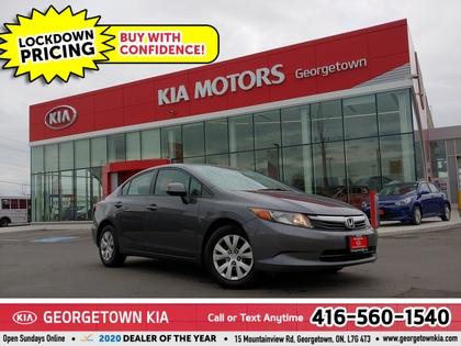 used 2012 Honda Civic car, priced at $7,950