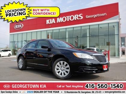 used 2013 Chrysler 200 car, priced at $6,950