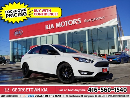 used 2018 Ford Focus car, priced at $14,450