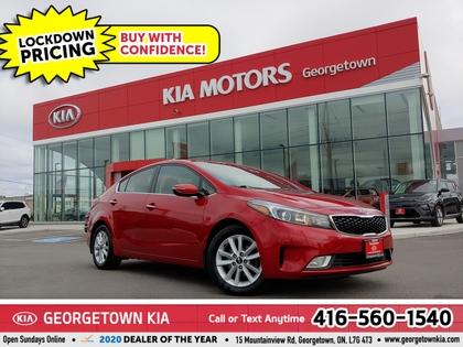 used 2017 Kia Forte car, priced at $12,950