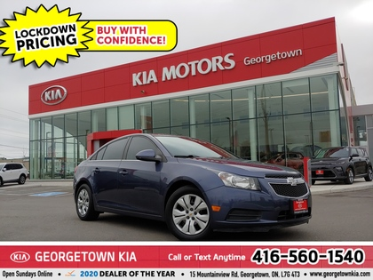 used 2014 Chevrolet Cruze car, priced at $8,950