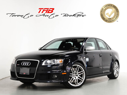 used 2007 Audi RS 4 car, priced at $31,910